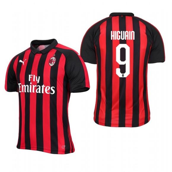898983f32f5 Puma Shirts | Higuain 9 Ac Milan Soccer Jersey | Poshmark